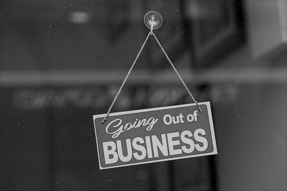 More chances of a business failing then succeeding